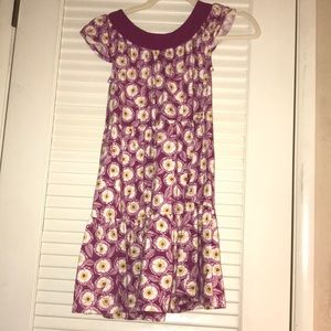 Girls Tea Collection pink and yellow dress